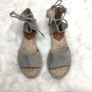 4522b0663f0 Diane Von Furstenberg Shoes - DIANE VON FURSTENBERG Dakota Suede Espadrille  Flat